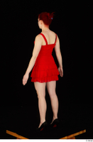 Vanessa Shelby red dress standing whole body 0006.jpg